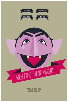 Apatow's production & film poster : Forgetting Sarah Marshall by Nicolas Beaujouan, via Behance