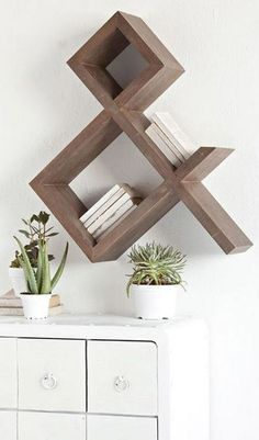 wall furniture design. Intersecting Squares Decorative White Wall Shelf   Home Pinterest Shelves, Shelves And Walls Furniture Design R