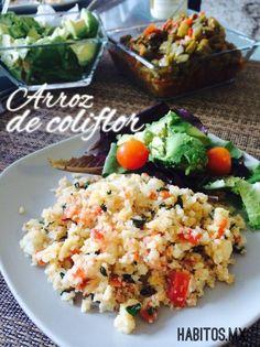 Un rico arroz de coliflor….