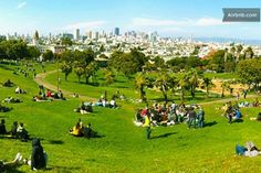 Dolores Park - Walking Distance Street and Dolores Street) Mission District, Flat Rent, Distance, The Neighbourhood, Dolores Park, San Francisco, 21st, Walking, United States