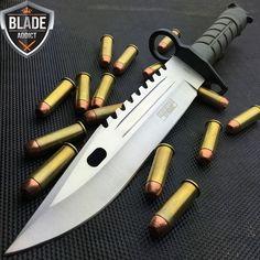 Bayonet for Days!!!  Mega Knife  Shop knives at www.megaknife.com #outdoor #knives #camping #hunting