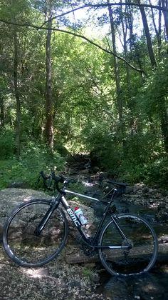 A BMC ALR01 on the trail