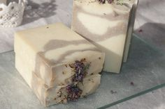 natural soap with aloe, tyme, lavander, mint and rassoul