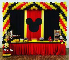 Baby Mickey, Mickey Mouse Theme Party, Mickey Mouse Party Decorations, Mickey Mouse Crafts, Mickey 1st Birthdays, Fiesta Mickey Mouse, Mickey Mouse Baby Shower, Mickey Mouse Clubhouse Birthday, Mickey Birthday