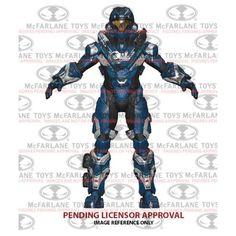 "SPARTAN HELLJUMPER Series 2 Halo 5 Guardians McFarlane 6"" Action Figure"