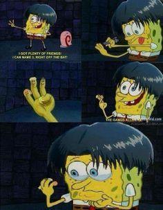 Levi SNK spongebob crossover ~~~ ahhh this was upsettinggggggg squad Leviiii