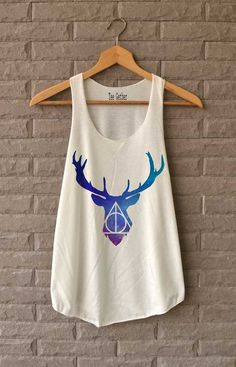 Deathly Hallows Space Tank ($12) | Seriously Cute Harry Potter Gear That You Can Rock When It's Hot Outside | POPSUGAR Tech