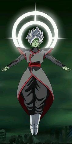 How Strong is Merged Zamasu in Dragon Ball Super? Dragon Ball Z, Dragon Ball Image, Black Goku, Zamasu Fusion, Merged Zamasu, Wallpaper Animé, Dragonball Super, Zamasu Black