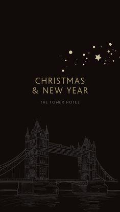 The Tower Hotel Christmas brochure 2014 Die Tower Hotel Weihnachtsbroschüre 2014