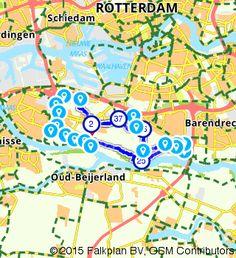 Op route.nl heb ik deze mooie fietsroute gezien voor een gezellig dagje uit: http://www.route.nl/fietsroute/197665/rondje-albrandswaard