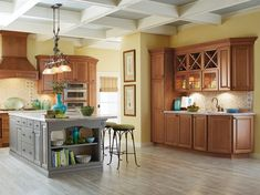 Charming Interior Kitchen Design With Schrock Cabinets: Innovative Schrock Cabinets For Storage Solutions