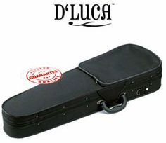 D'Luca Featherweight Violin Case, VCM-150 - 1/8 by D'Luca. $49.95. Featherweight Violin Cases provide durable lightweight protection for your musical instruments. Space age foam with wooden rib reinforcement, plush interior & durable luggage grade exterior make these cases the perfect choice for any player. Features: Ultralight foam construction Nylon case cover Wooden frame reinforcement on the sides Molded interior for comfortable fit Large zippered exterior pocket