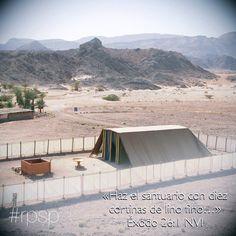 El santuario debía ser una lección de enseñanza para Israel de como el plan de salvación de Dios se reveló a ellos #rpsp
