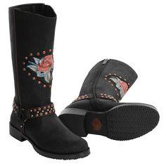 Harley-Davidson Pamela Motorcycle Boots - Leather (For Women))