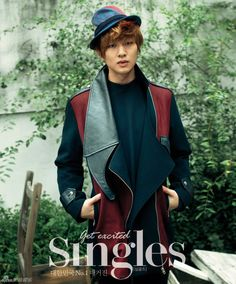 SHINee Onew - Singles Magazine October Issue '12