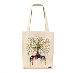 Wish Tree - Tote Bag - Bez Çanta - R291-510k - Çanta 239601   zet.com