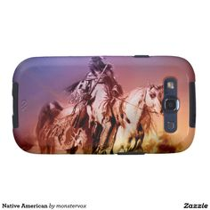 Native American Samsung Galaxy SIII Case #NativeAmerican #Indian #Horse #Historical #Art #Mobile #Phone #Cover #Case #Samsung