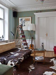 foto sobre utilização de escada em decoração. Fonte: click interiores.