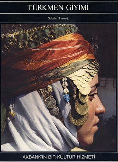 My books: Türkmen Giyimi Folk Costume, Costumes, Turkic Languages, Blue Green Eyes, Viking Life, Turkish Art, Stylish Girl Pic, Magic Carpet, Central Asia