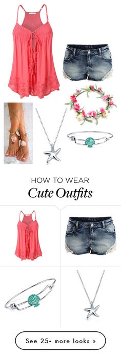 """""""Outfit #724"""" by cheshirecatin-neverland on Polyvore featuring VILA, Bling Jewelry and Disney"""