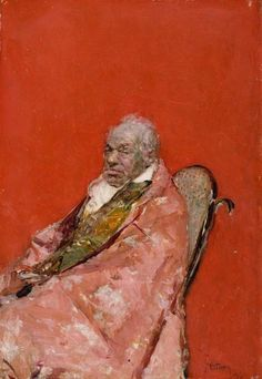 Fortuny : This is an incredible portrait for 1874!
