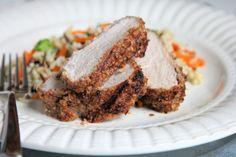grilled pecan pork tenderloin filet recipe