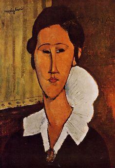 Portrait of Anna : Amedeo Modigliani : Museum Art Images : Museuma