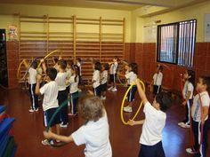 Propuesta de actividades para trabajar en el aula de psicomotricidad con aros