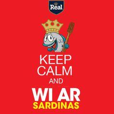 Keep Calm and #WiAr #Sardinas