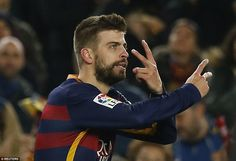 Pique did well to lose his marker Pepe and met Ivan Rakitic's corner head on for the opening goal of the contest