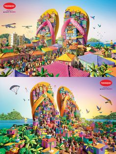 Print Advertising : Havaianas Print Advertising Campaign Inspiration Havaianas Advertisement Description Havaianas Don't forget to share the post, Sharing is love ! Ads Creative, Creative Advertising, Print Advertising, Creative Design, Advertising Campaign, Top Imagem, Good Advertisements, Great Ads, Ad Art