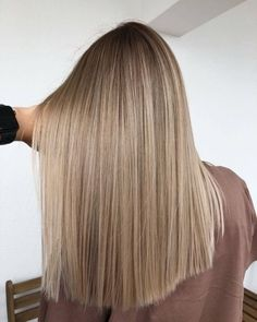 Golden Blonde Balayage for Straight Hair - Honey Blonde Hair Inspiration - The Trending Hairstyle Ombre Hair Color, Hair Color Balayage, Brunette Color, Hair Colors, Brunette To Blonde, Ash Blonde, Balayage Bronde, Bronde Haircolor, Blonde Hair Designs