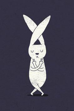 wall paper      rabbit