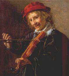 Jan Miense Molenaer (Dutch, 1610-1668) - Violinist