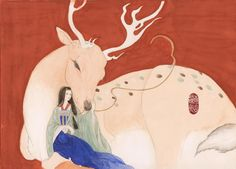 A deer from Dunhuang