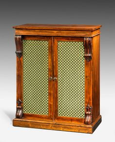 Regency Period Rosewood Side Cabinet (Ref No. 6930) - Windsor House Antiques