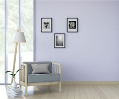 Color Lavanda, Wall Colors, Entryway Bench, Color Mixing, Sweet Home, Gallery Wall, Architecture, Bedroom, House