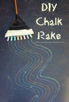 DIY Chalk Rake