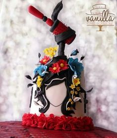 Sunday Sweets: Labors of Love — Cake Wrecks Pretty Cakes, Cute Cakes, Beautiful Cakes, Amazing Cakes, Gravity Defying Cake, Gravity Cake, Crazy Cakes, Fancy Cakes, Fondant Cakes