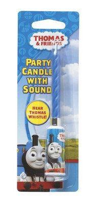 Thoma the Train Sound Candle Cake Decoration on Etsy, $4.99