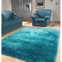 Polyester turquoise Area Rug Hand Tufted Size The manufacturer & importer of quality area rugs such rug as Viscose Shag Solid Turquoise Rug, Teal Rug, Rugs In Living Room, Living Room Decor, Rug Runners, Cheap Carpet Runners, Bedroom Carpet, Carpet Colors, My New Room