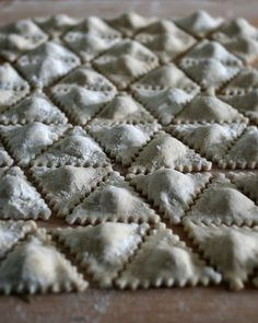 Ravioli Triangolo / Pasta