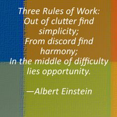 3 Rules of Work