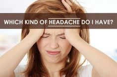 A summary of several of the most common types of headache.