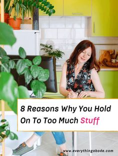 """Do you have too much stuff in your home? If you answered """"yes"""" to this question, you might be wondering how to get rid of clutter. Well, you're not alone! First, it's normal for some people to feel overwhelmed by too much clutter, but there is a solution. As there are many types and causes... Read More » The post 8 Reasons Why You Hold On To Too Much Stuff appeared first on Everything Abode. English Cottage Style, Cottage Style Homes, Selling On Craigslist, Feng Shui Energy, Cool Things To Buy, Things To Come, Leafy Plants, Getting Rid Of Clutter, Peace Lily"""