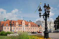 The main square of Karlskrona.
