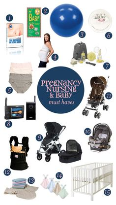 Recommended Baby Items (Someday I might need this)