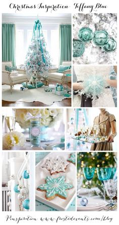 Christmas Inspiration- Tiffany Blue