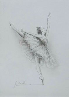 Ballerina drawing original pencil drawing x 8 on white paper of by ballerina drawing simple . Ballerina Drawing, Dancer Drawing, Ballet Drawings, Dancing Drawings, Painting & Drawing, Drawings Of Ballerinas, Ballerina Tattoo, Amazing Drawings, Cute Drawings