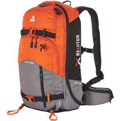 ARVA Reactor 24 Avalanche Airbag Backpack - 1464 cu in North Face Backpack, Winter Sports, Backpack Bags, Outdoor Gear, Skiing, Survival, Backpacks, Blue, Stuff To Buy